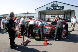 Tony Stewart will have to go his back-up ride because of an incident during practice