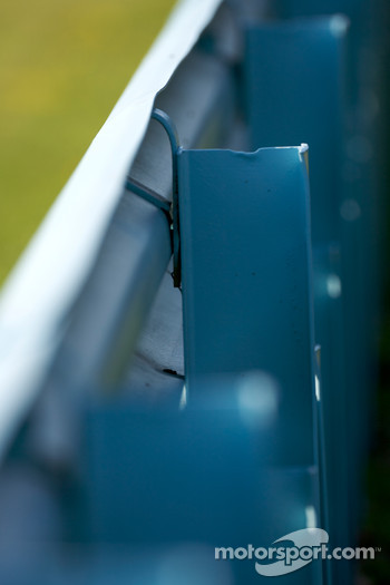 Watkins Glen guardrail detail