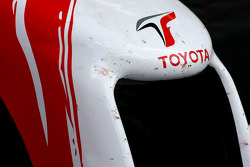 Toyota F1 Team front wing