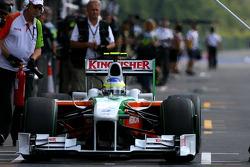 Giancarlo Fisichella, Force India F1 Team