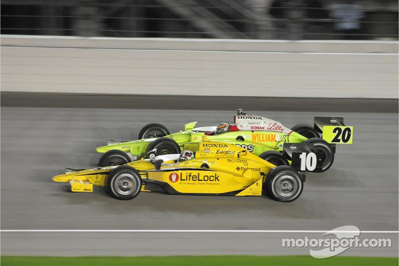 Dario Franchitti, Target Chip Ganassi Racing and Ed Carpenter, Vision Racing