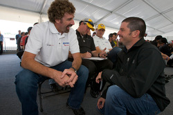 Drivers and crew chiefs meeting: Boris Said and Patrick Carpentier