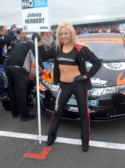 Johnny Herbert's Grid Girl