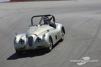 Mike Heffernan, 1954 Jaguar XK-120