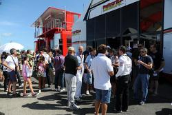LCR Honda MotoGP hospitality