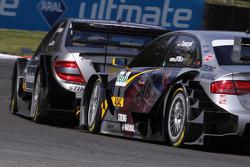 Bruno Spengler, Team HWA AMG Mercedes AMG Mercedes C-Klasse, Martin Tomczyk, Audi Sport Team Abt Audi A4 DTM