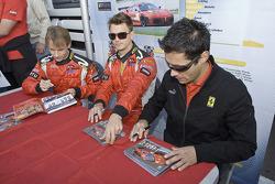 Antonio Garcia, Leo Mansell, Jaime Melo