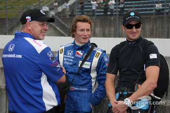 Mike Conway, Dreyer & Reinbold Racing and Tomas Scheckter, Dreyer & Reinbold Racing