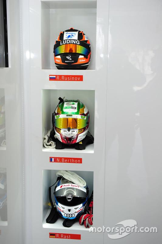 Helmet of #26 G-Drive Racing Oreca 05 - Nissan: Roman Rusinov, Nathanael Berthon, René Rast