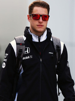 Stoffel Vandoorne, McLaren Test and Reserve Driver