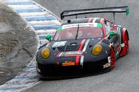 IMSA Foto - #73 Park Place Motorsports Porsche GT3 R: Patrick Lindsey, Jörg Bergmeister