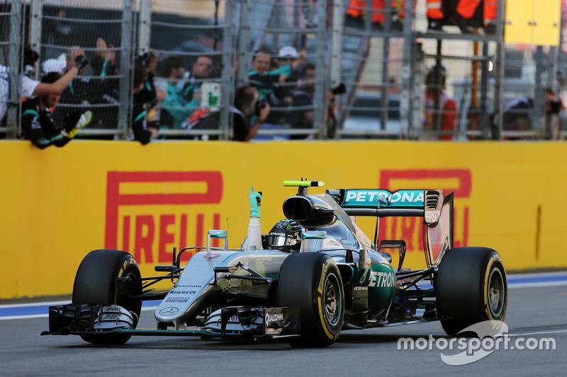 Russland, Sochi: Nico Rosberg (Mercedes)