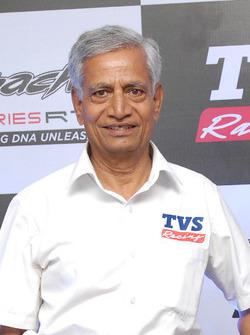 Arvind Pangaonkar, TVS Racing Team Head