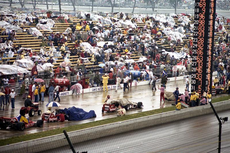 1976: Regenzeit in Indy