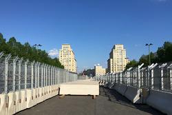 Berlin ePrix under construction