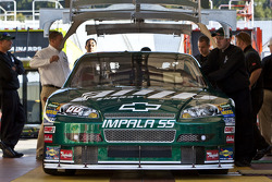Dale Earnhardt Jr.'s car gets inspected