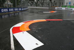 New kerbs at turn 10