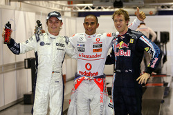 Nico Rosberg, WilliamsF1 Team, Lewis Hamilton, McLaren Mercedes, Sebastian Vettel, Red Bull Racing
