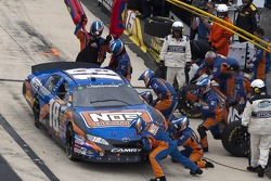 Pit stop for Kyle Busch