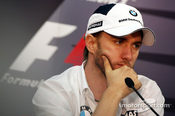 FIA press conference: Nick Heidfeld, BMW Sauber F1 Team