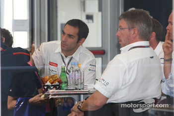 Fota meeting at Mclaren with Ross Brawn Team Principal, Brawn GP