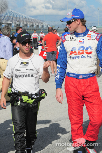 Ernesto Viso and Ryan Hunter-Reay