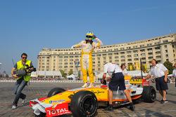 Lucas di Grassi, test driver, Renault F1 Team