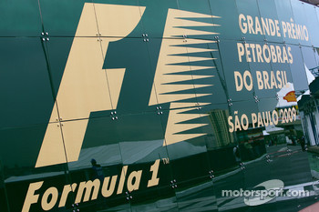 Brazilian Grand Prix sign