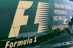 Brazilian Grand Prix sign
