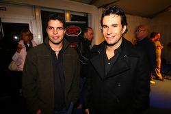 Prize giving party: Roberto Streit and Enrique Bernoldi