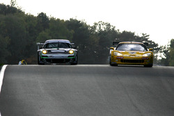 #4 PK Carsport Corvette C6R: Mike Hezemans, Anthony Kumpen, #58 Trackspeed Porsche 911 GT3 RSR: Sascha Maassen, David Ashburn