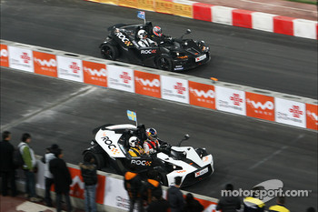 Group B, race 5: Mattias Ekström and Mick Doohan