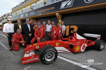 F1 Clienti: Piero Ferrari with competitors