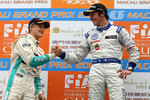 Podium: race winner Jean-Karl Vernay, Signature with second place Marcus Ericsson, Tom's