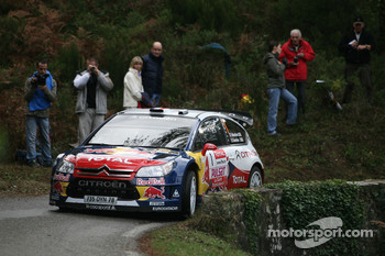 Sbastien Loeb and Sverine Loeb, Citroen C4 WRC