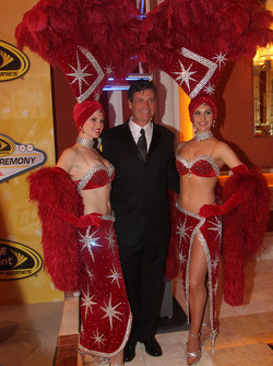 Michael Waltrip in charming company