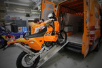 KTM: KTM customer service bike