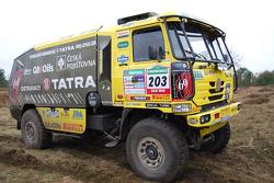 Loprais Tatra Team: Ales Loprais, Milan Holan, Jaroslav Miskolci