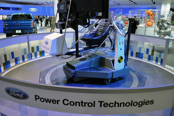 Driving simulator at the Ford display at NAIAS 2010.