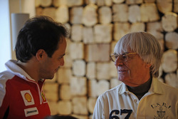 Felipe Massa with Bernie Ecclestone