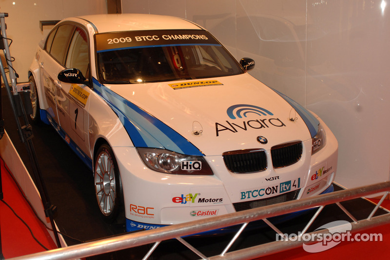 Colin Turkington WSR BTCC car fresh with new sponsers