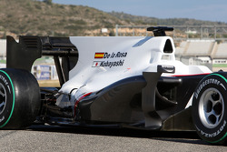 Detail on the new BMW Sauber C29