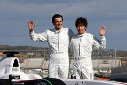 Pedro de la Rosa, BMW Sauber F1 Team and Kamui Kobayashi, BMW Sauber F1 Team