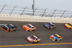 Denny Hamlin, Joe Gibbs Racing Toyota, Greg Biffle, Roush Fenway Racing Ford, Joey Logano, Joe Gibbs Racing Toyota, Kyle Busch, Joe Gibbs Racing Toyota, Matt Kenseth, Roush Fenway Racing Ford