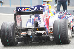 Rear diffuser of the Red Bull