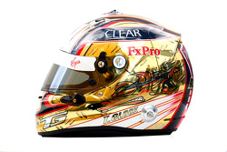 Timo Glock, Virgin Racing helmet