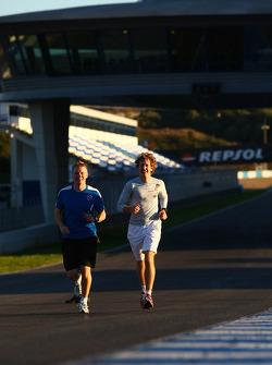 Sebastian Vettel, Red Bull Racing running on the circuit