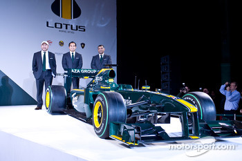All the share Holders in team Lotus