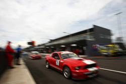 #71 Action Racing, Ford Mustang Shelby: Marcus Zukanovic, Allan Simonsen, Jason Bright