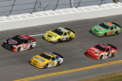 Kevin Harvick, Dale Earnhardt Jr., Brian Vickers, Tony Stewart and Kyle Busch